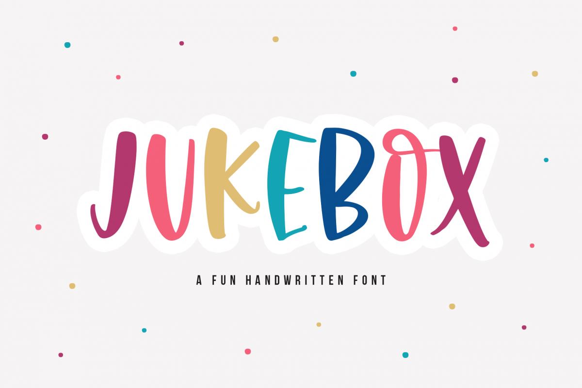 Jukebox - A Fun Handwritten Font example image 1