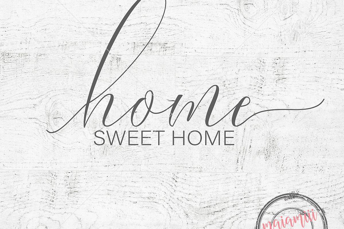 Home Sweet Home Svg File Cricut File Home Svg Wood Sign Farmhouse