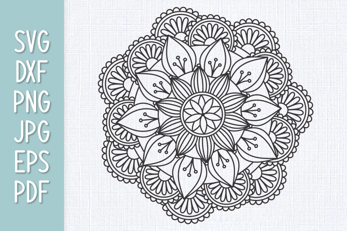 164+ Intricate Mandala Svg – SVG,PNG,DXF,EPS include