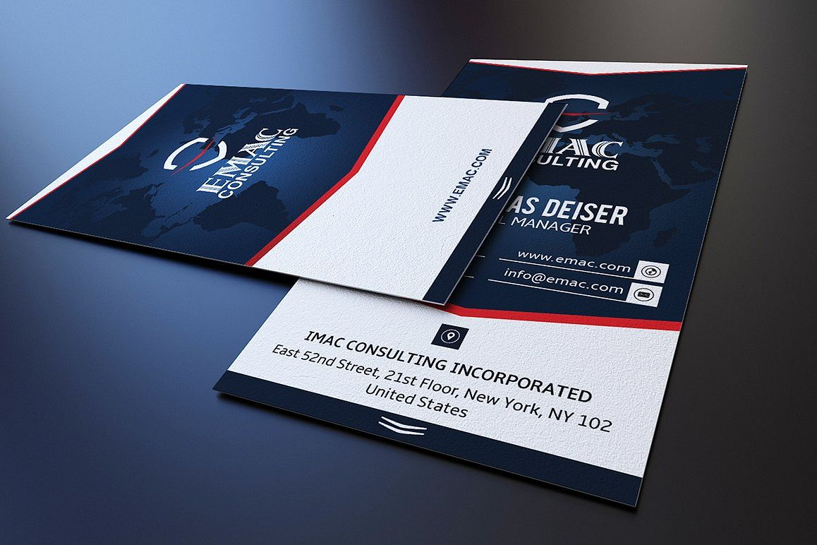 Clean Business Card example image 1