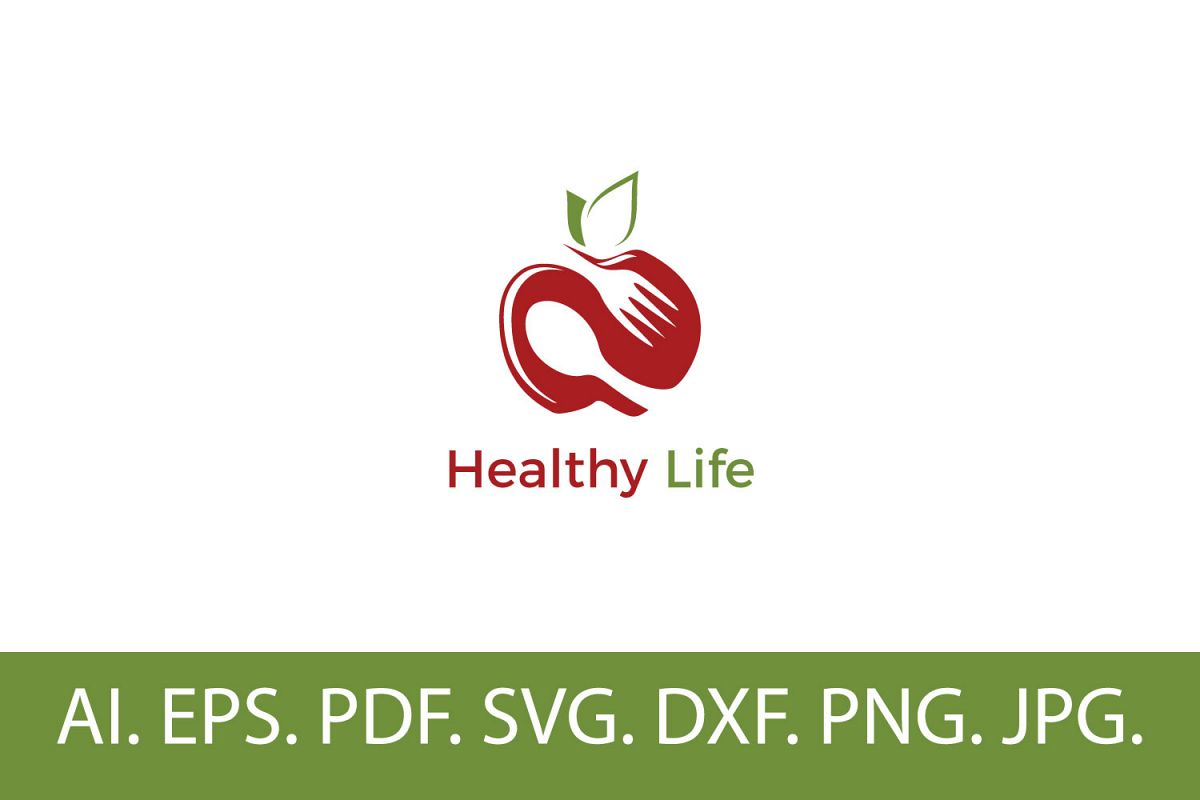 Healthy Life Logo example image 1