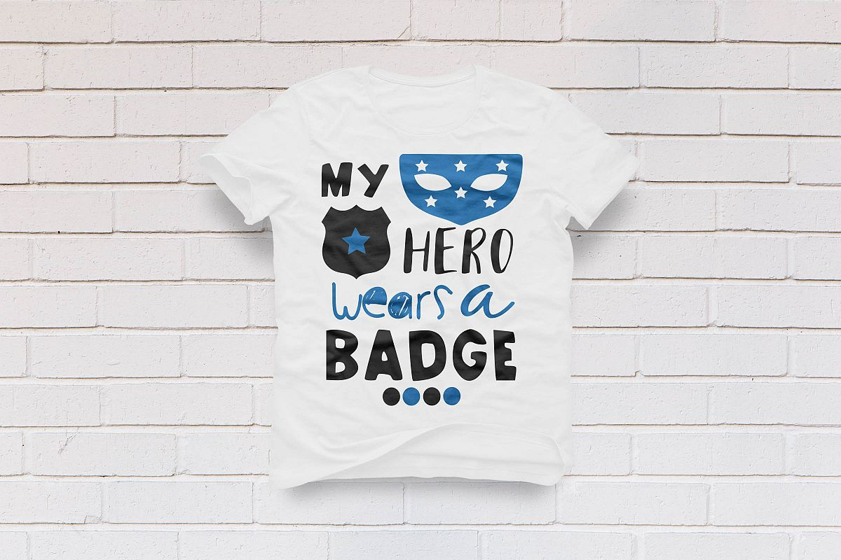 my hero wears a badge example image 1