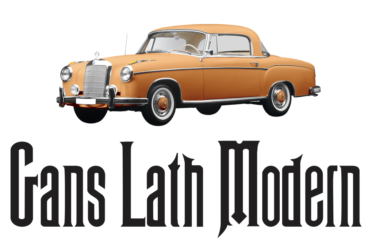 Gans Lath Modern (pack) example image 1