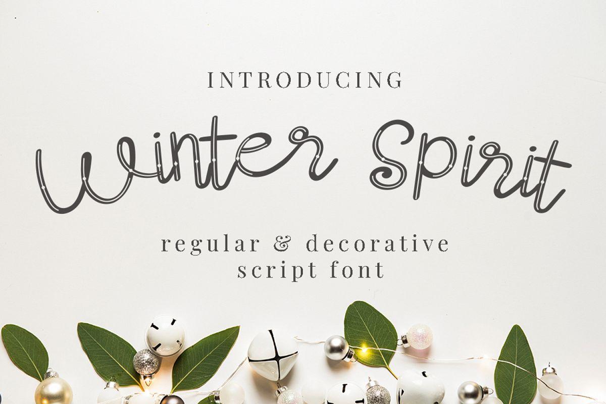 Winter Spirit example image 1