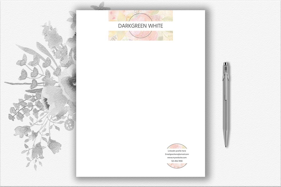 Letterhead Design Template example image 1