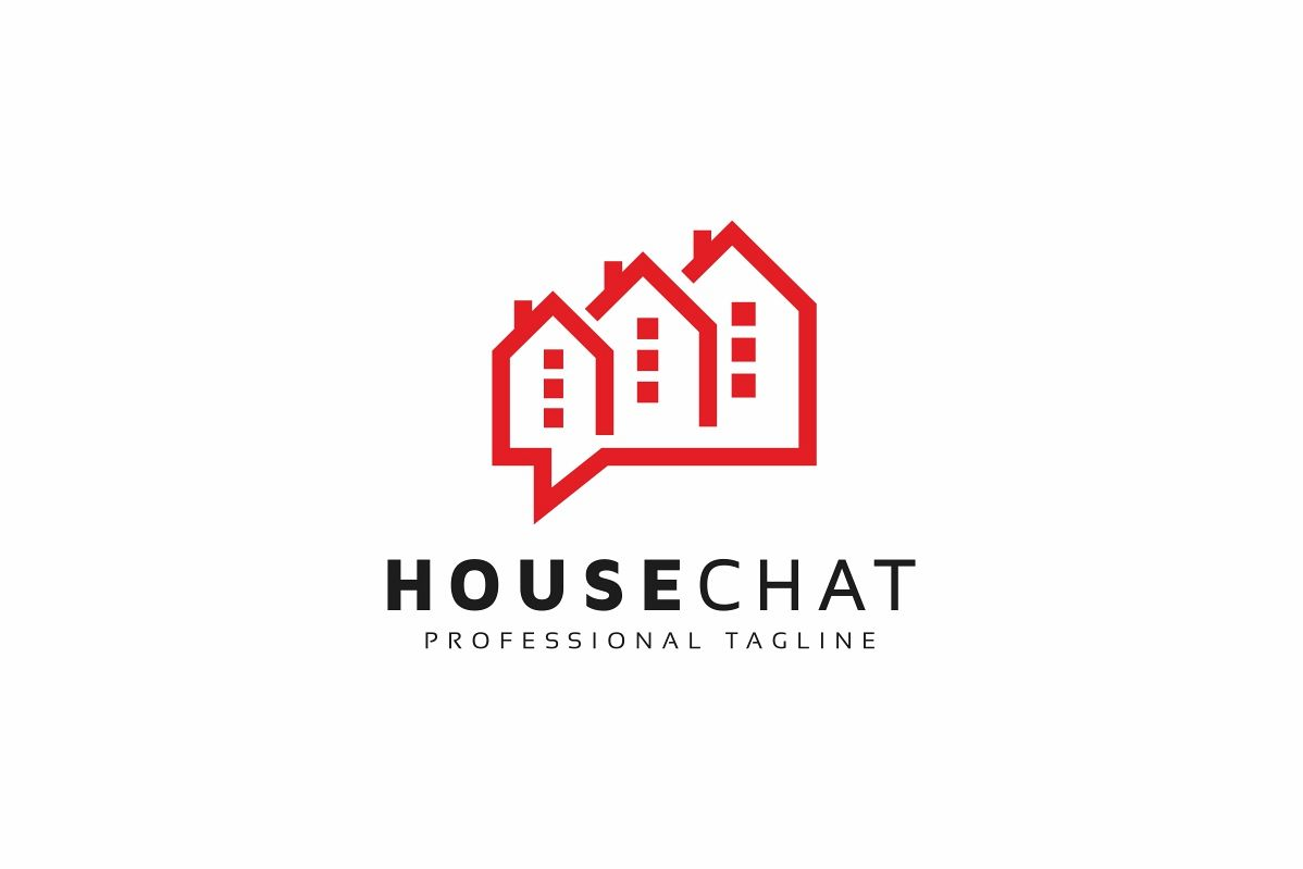 House Chat Logo example image 1