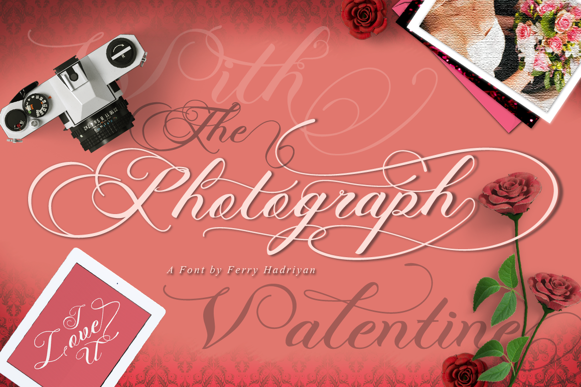 Photograph - Script Wedding Font example image 1