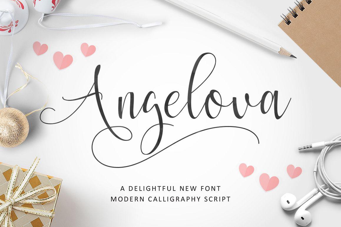 Angelova Script example image 1