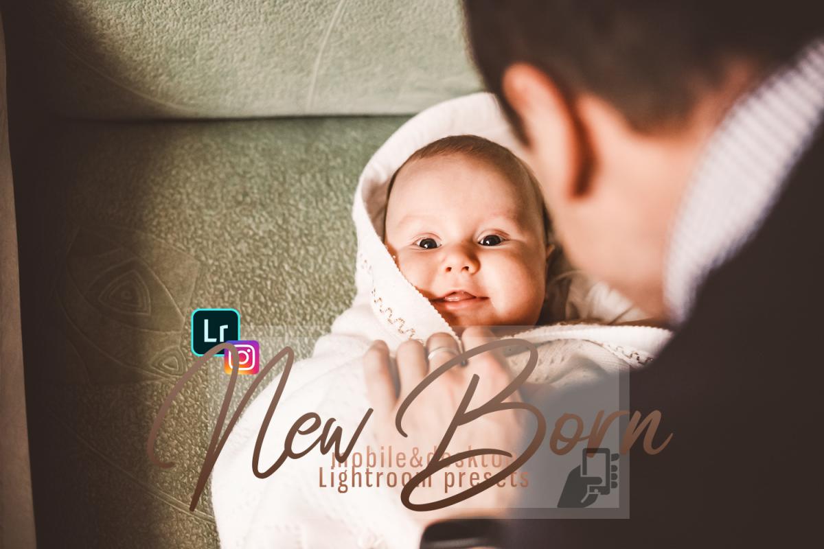 Download presets NewBorn Mobile & Desktop Lightroom Presets