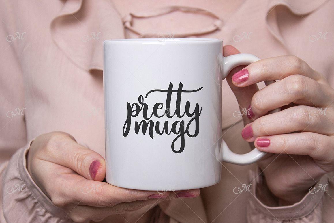 Pretty Mug Mockup. PSD & JPEG example image 1