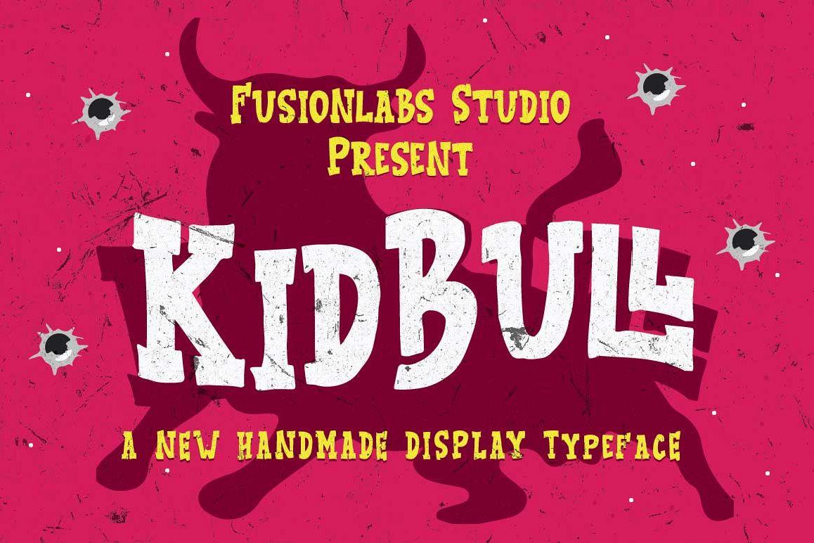 KidBull Typeface example image 1