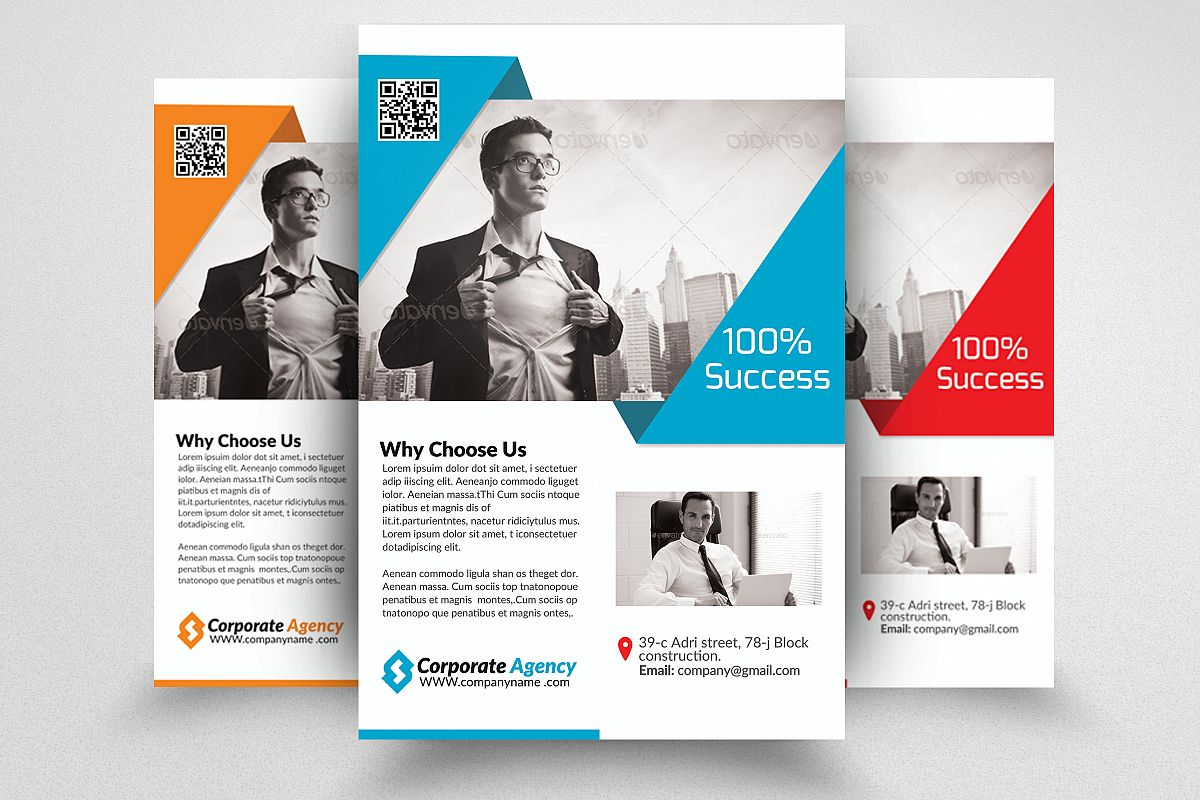 Business Marketing Agency Flyers example image 1