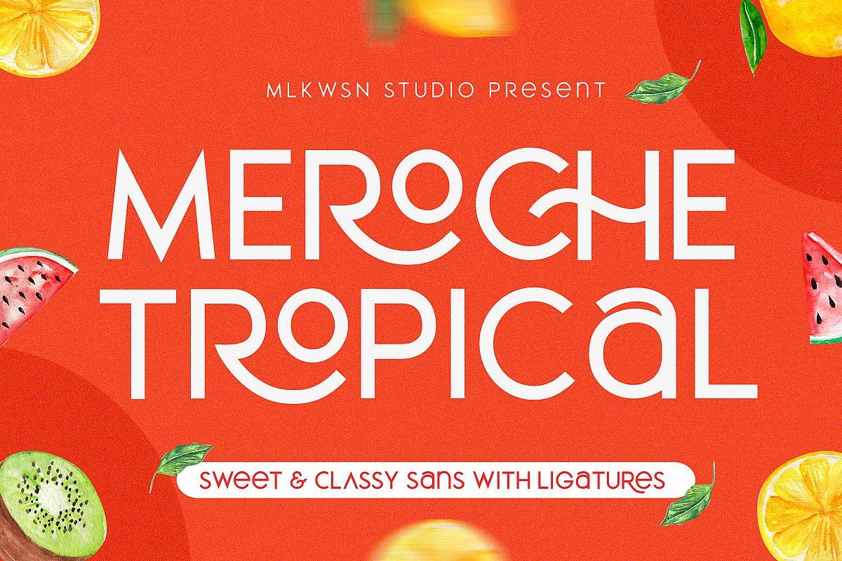 Meroche - Sweet & Classy Sans example image 1