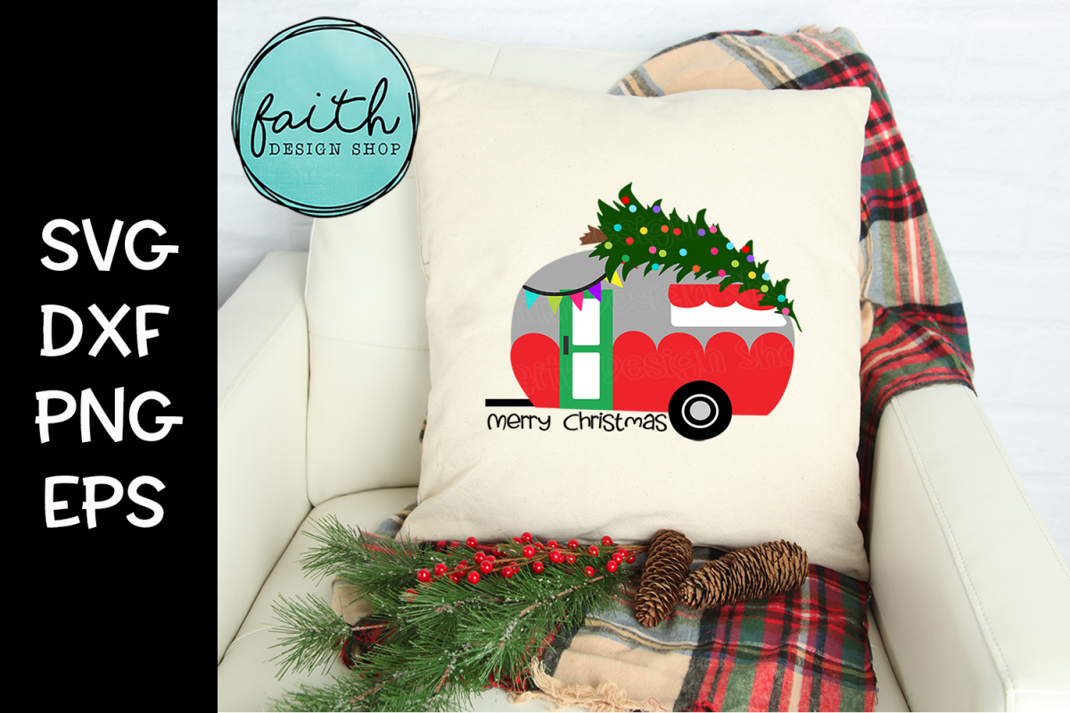 Christmas Camper example image 1