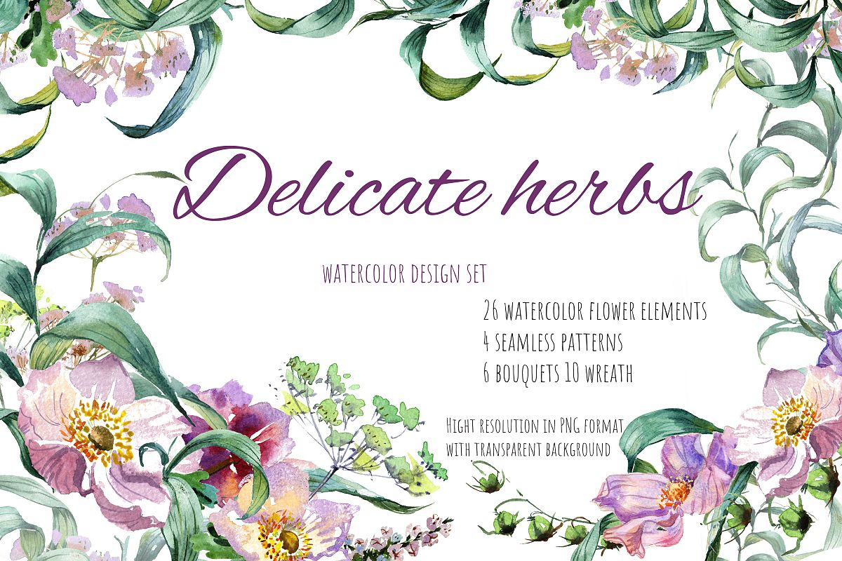 Delicate herbs example image 1