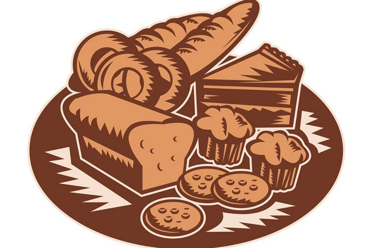 Pastry Bakery bread cookies muffin example image 1
