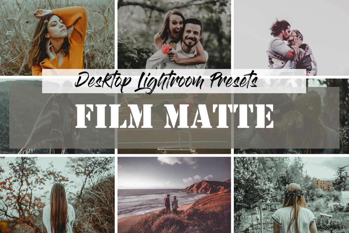 Lightroom Presets Film Matte example image 1