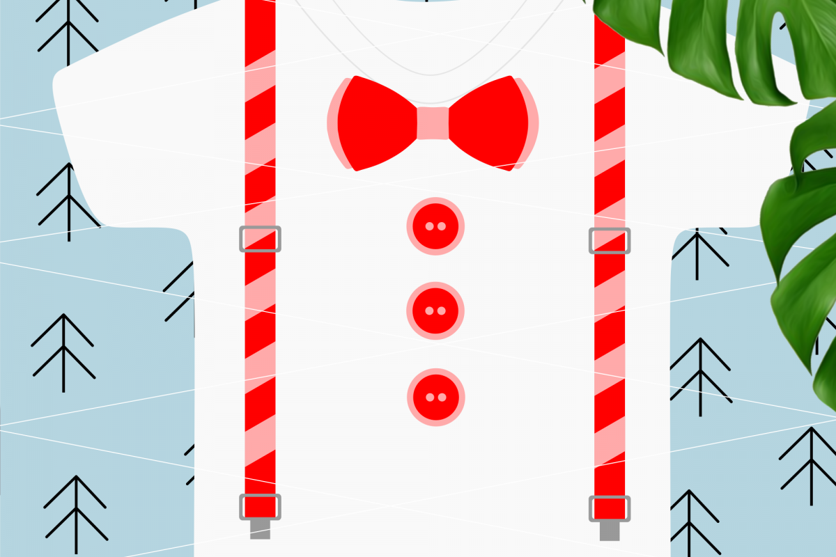 Suspenders svg example image 1