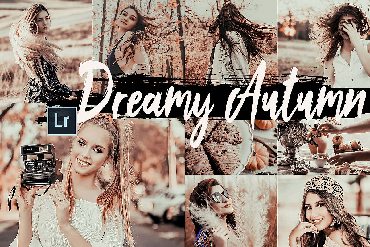 5 Dreamy Autumn Desktop Lightroom Presets and ACR preset example image 1