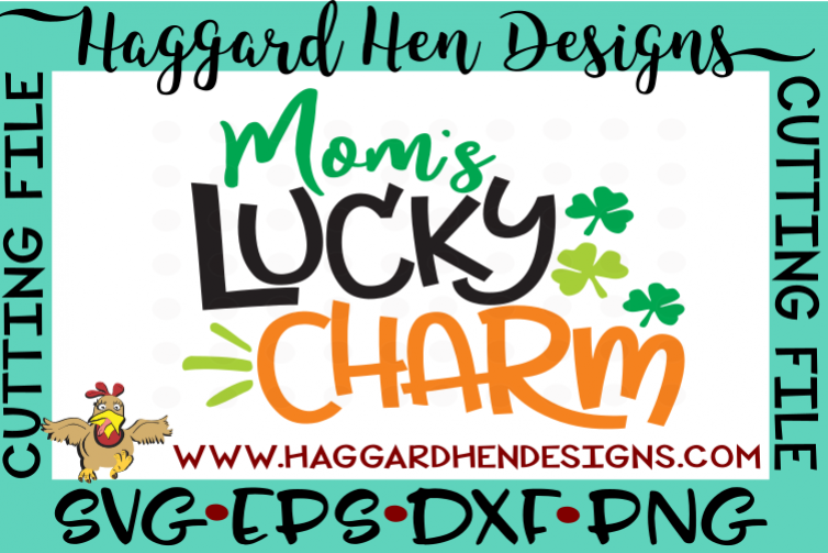 Mom's Lucky Charm SVG example image 1