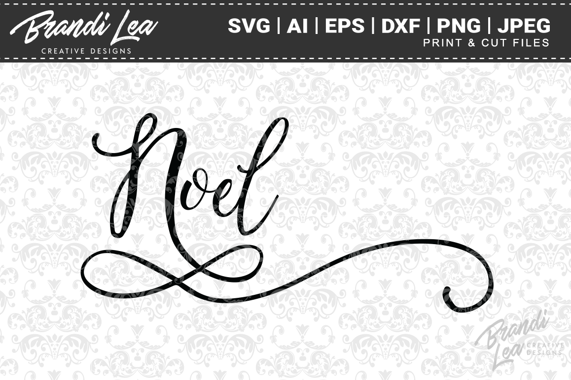 Noel Christmas SVG Cutting Files example image 1