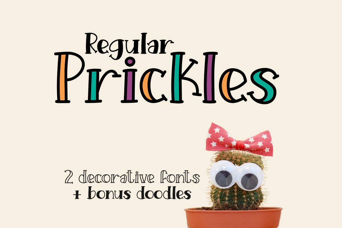 Prickles Regular example image 1