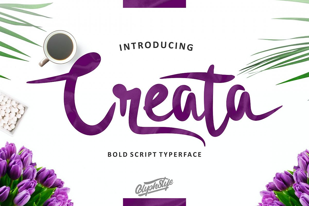 Creata Bold Script example image 1