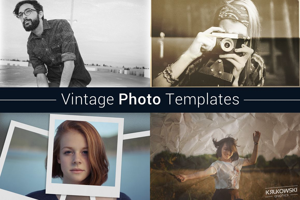 Vintage Photo Template example image 1