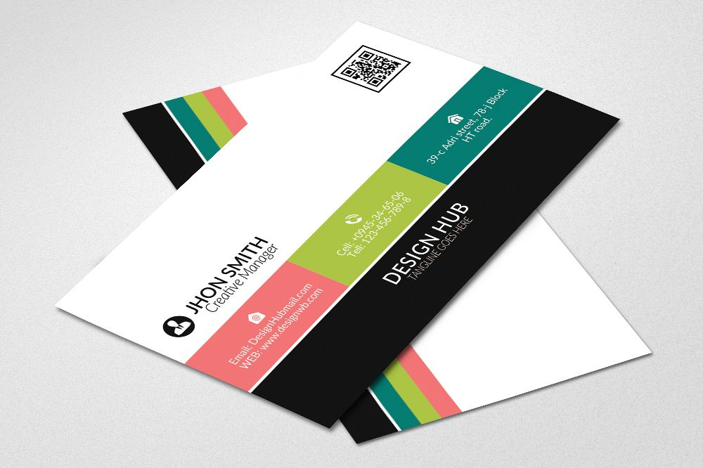 Colorfull Business Cards example image 1