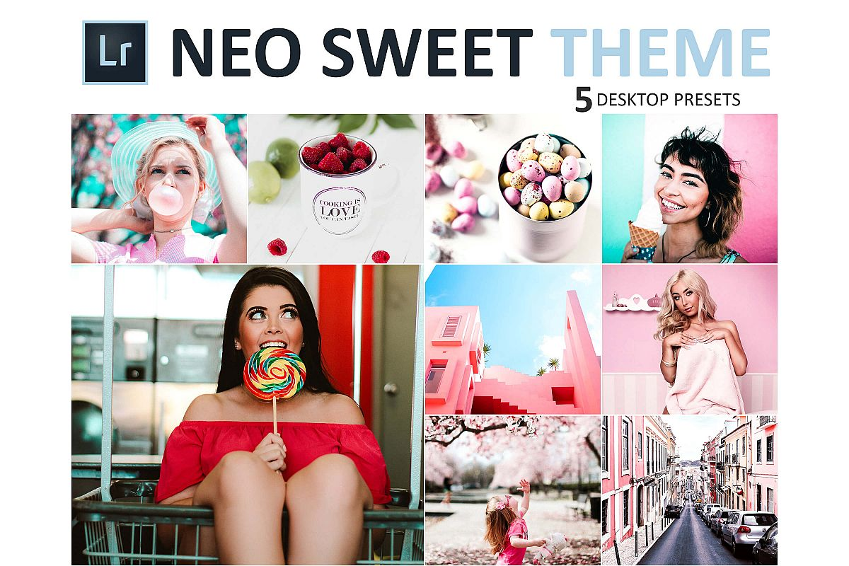 Neo Sweet Theme Desktop Lightroom Presets example image 1