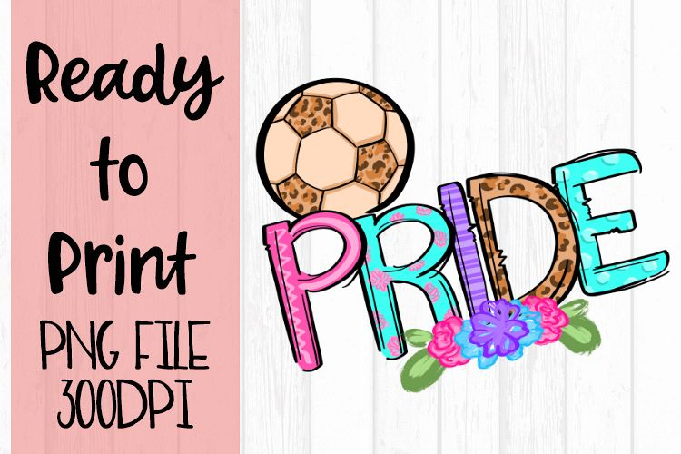 Doodle Soccer Pride Ready to Print example image 1