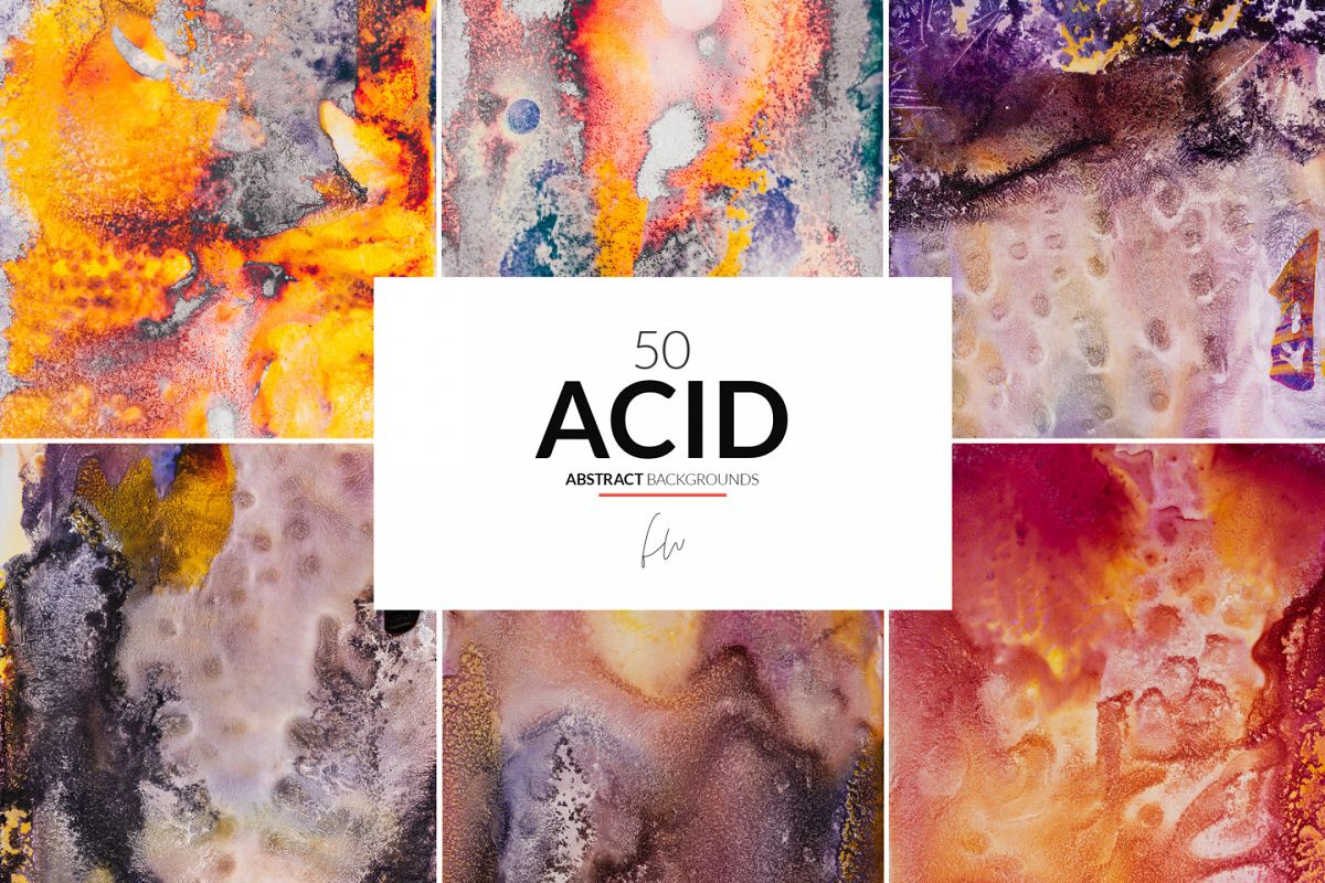 Acid - 50 Abstract Textures example image 1