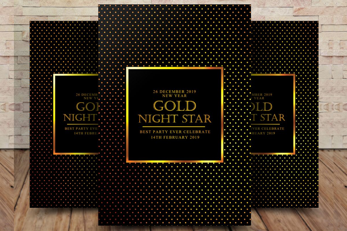 Gold Night Flyer example image 1