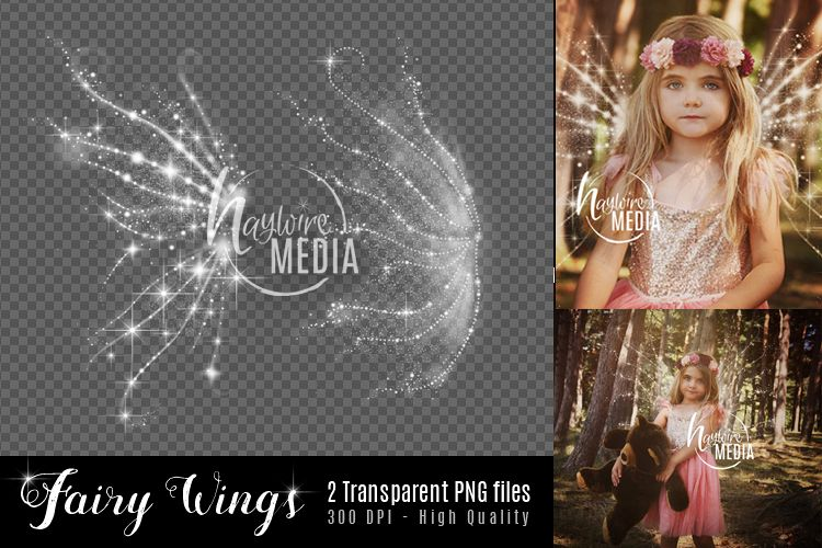 2 Transparent PNG Child Fairy Tale Butterfly Sparkle Wings example image 1
