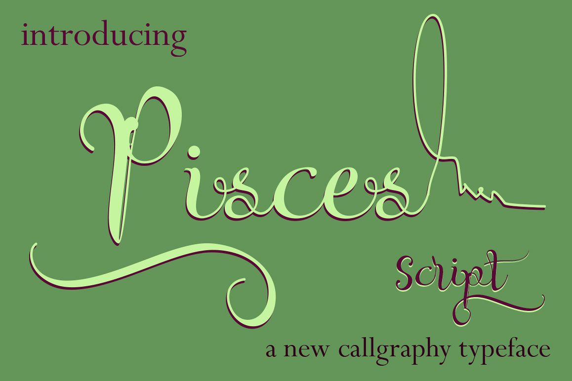 Pisces Script example image 1