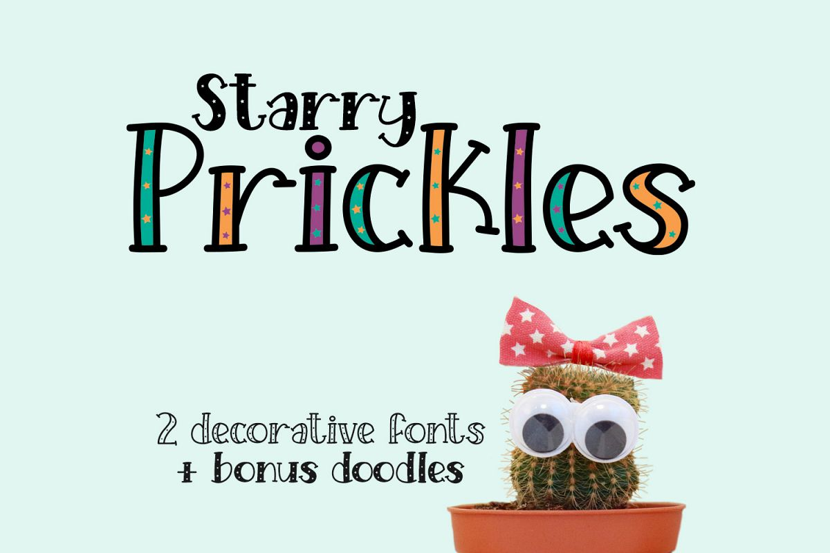 Starry Prickles example image 1