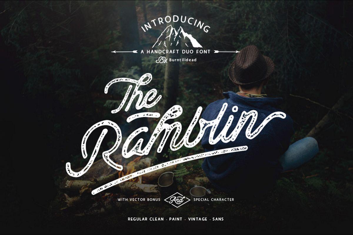 Ramblin Font Duo (15% OFF) example image 1