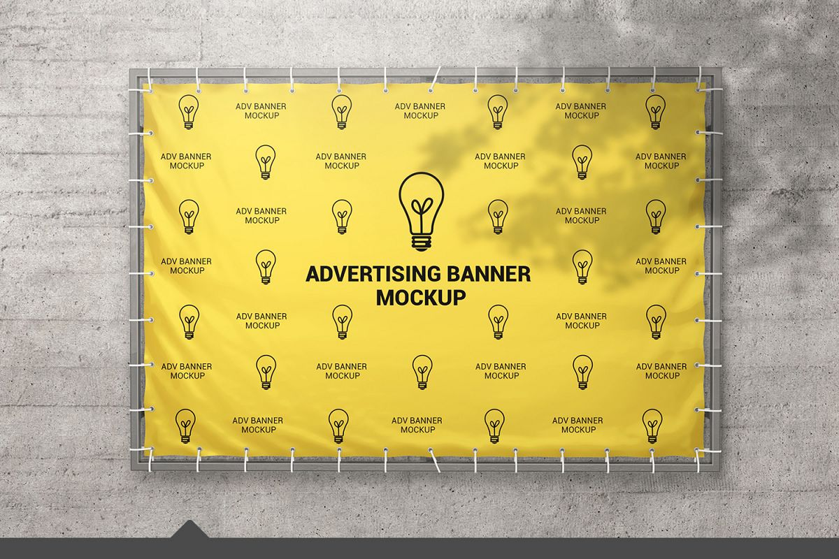 Advertising Banner Mockup example image 1