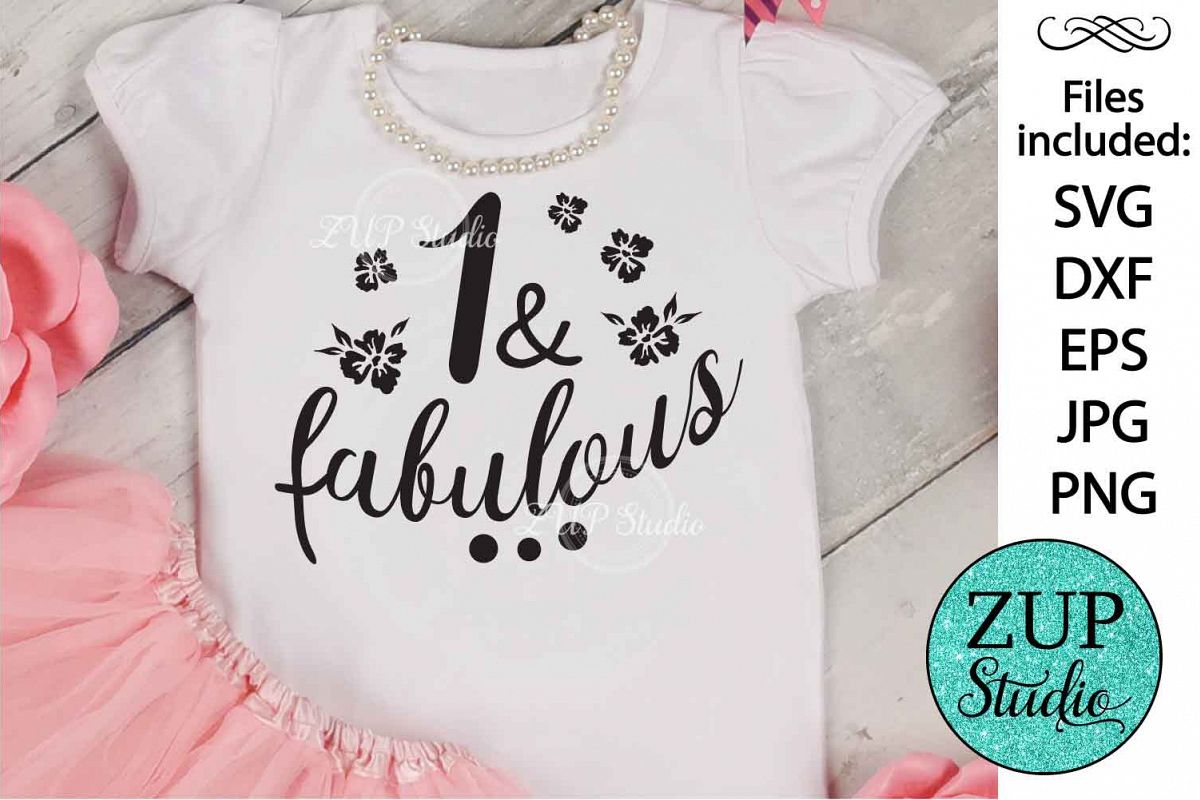 One and fabulous Digital Cutting files file 128 example image 1