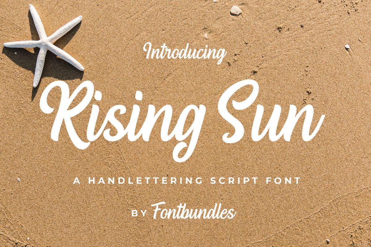 Rising Sun example image 1