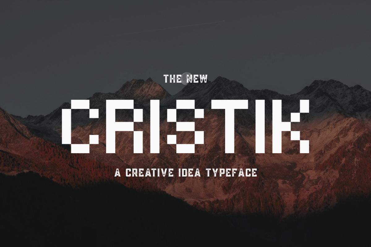 Cristik | A Creative Type example image 1