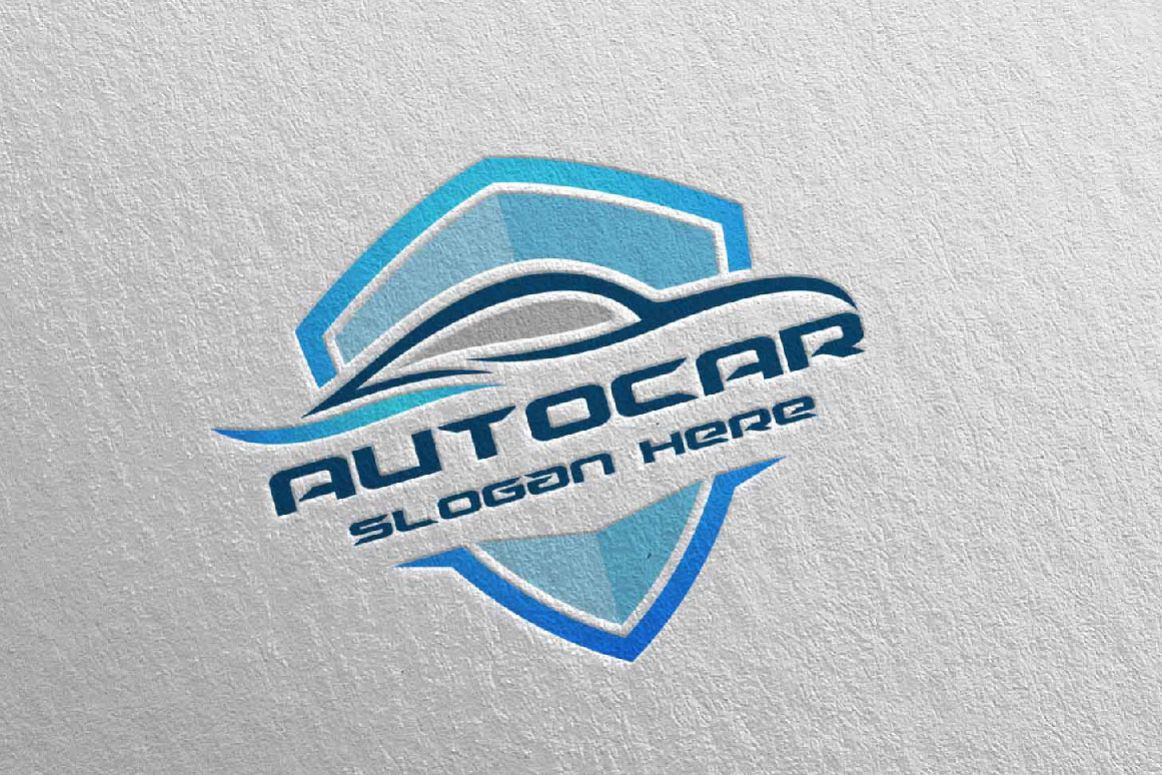 Car Logo For Sport Cars Rent Wash Or Mechanic 10