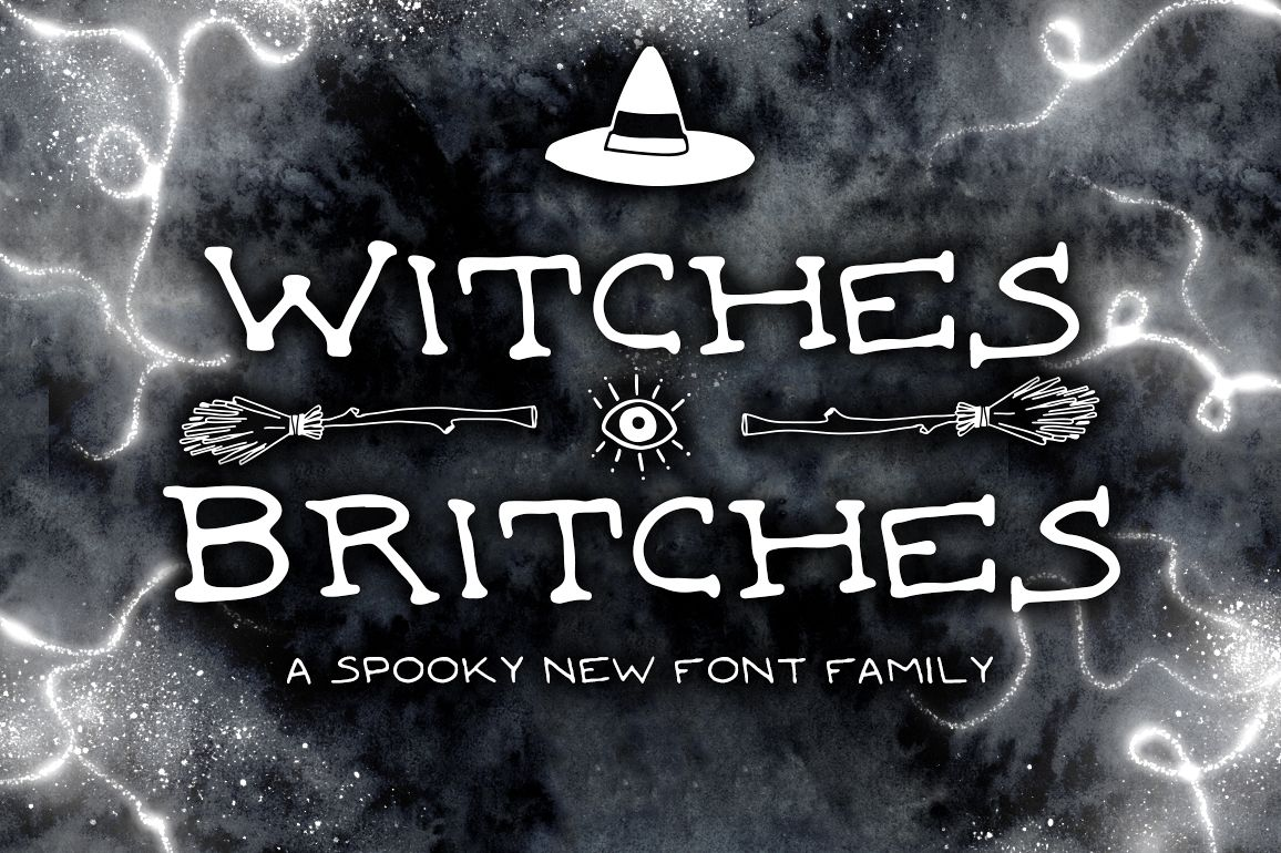 Witches Britches Font Family  example image 1