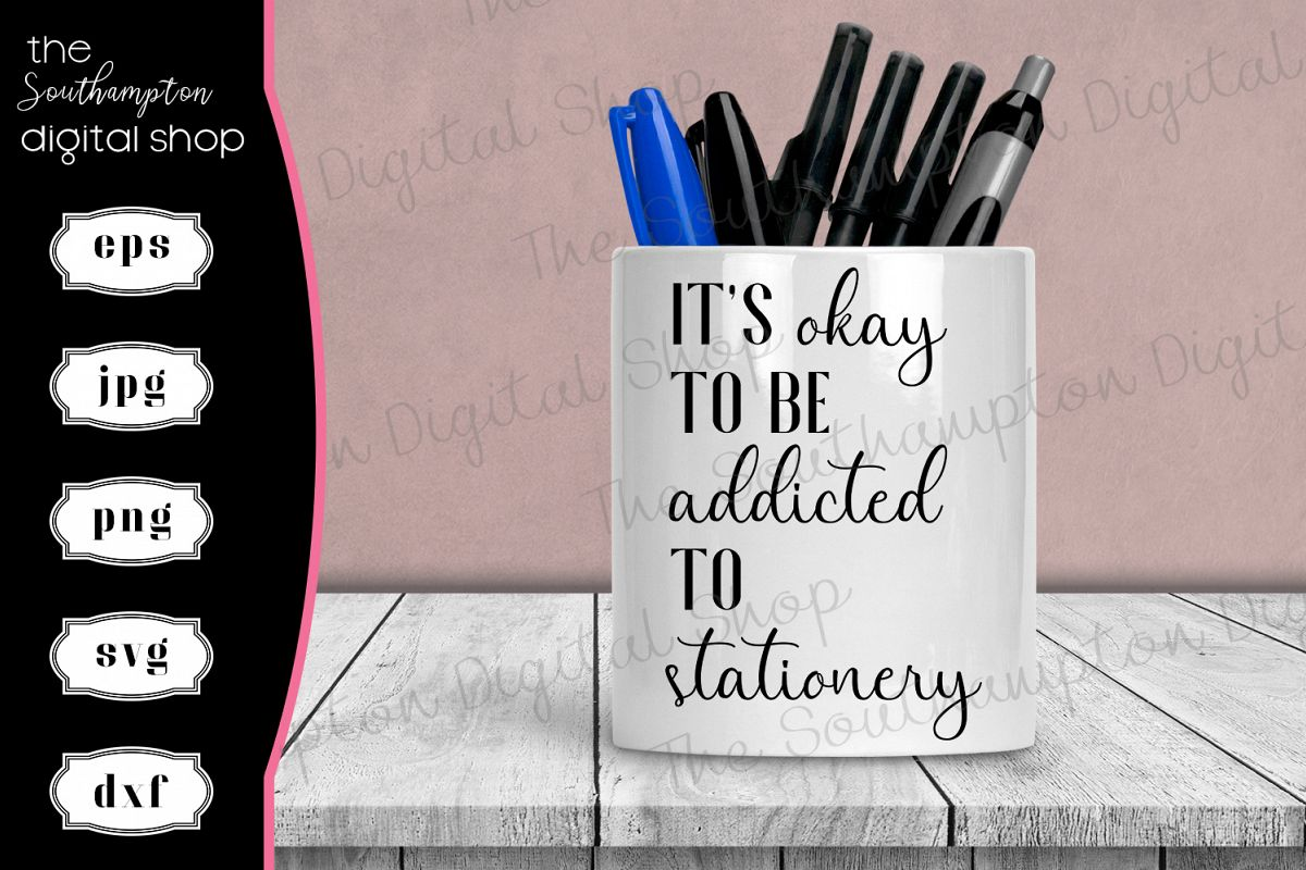 Funny Stationery Quote example image 1