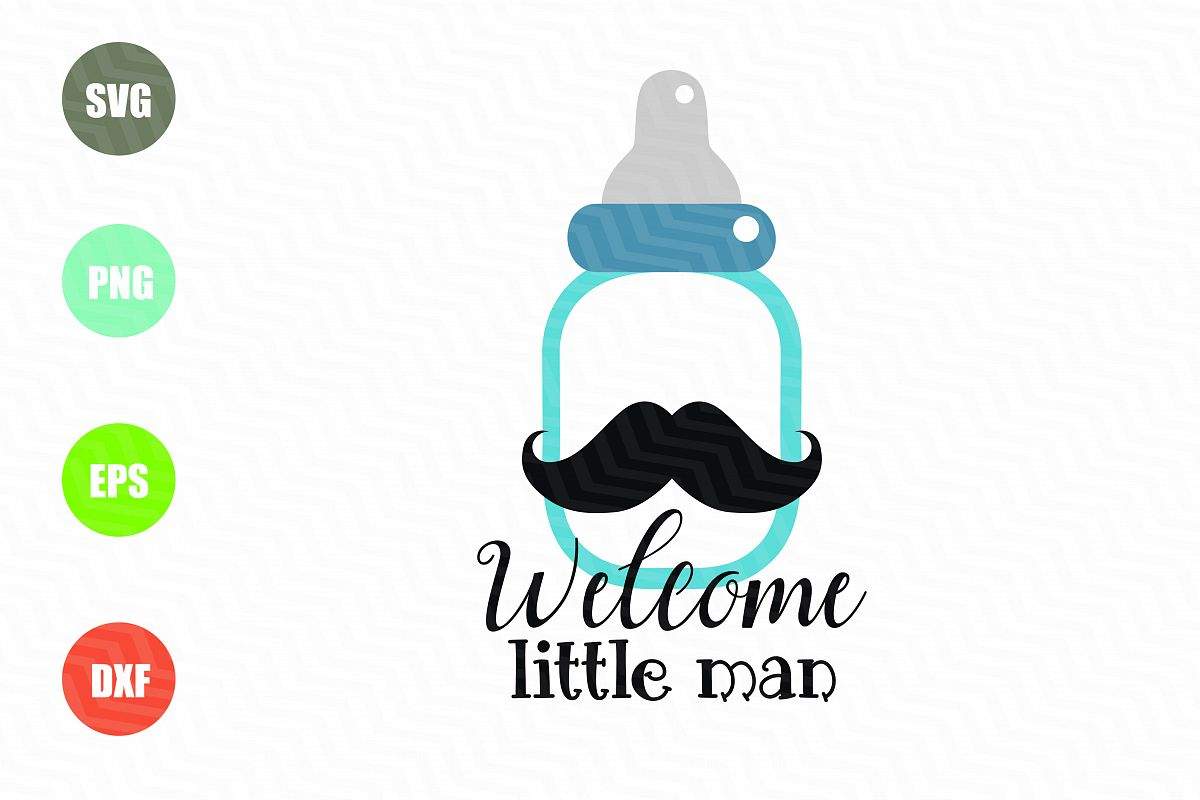 Welcome Little Man SVG example image 1