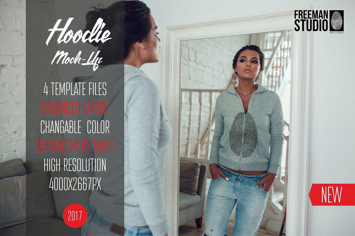 Hoodie Mock-Up Vol.1 2017 example image 1