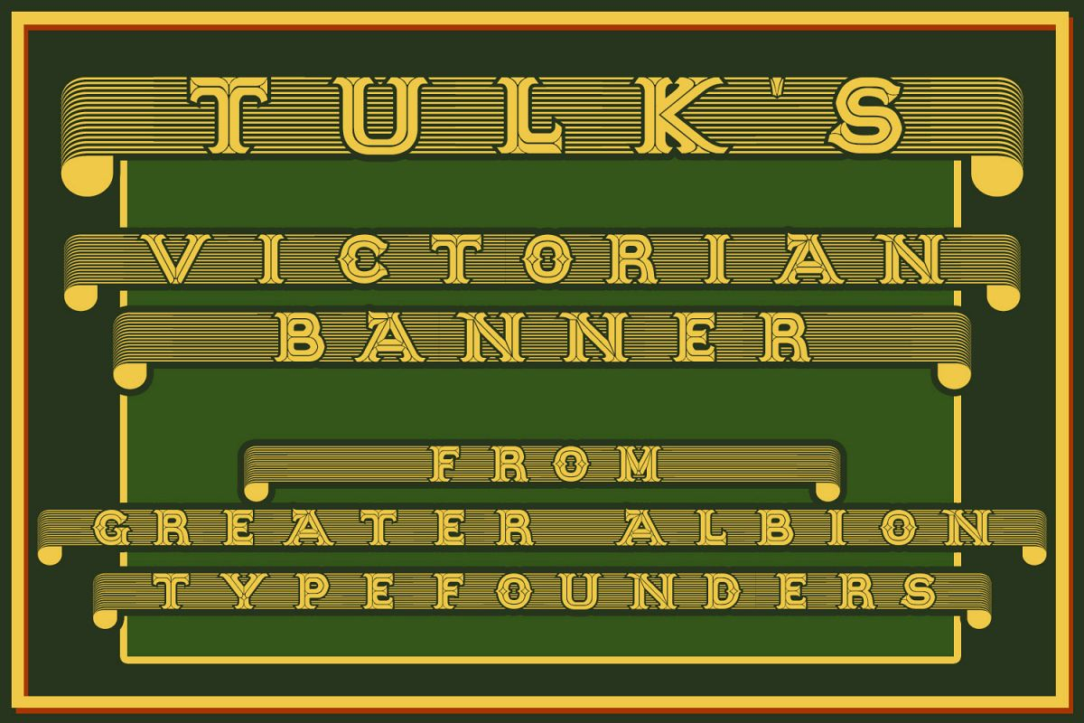 Tulk's Victorian Banner example image 1