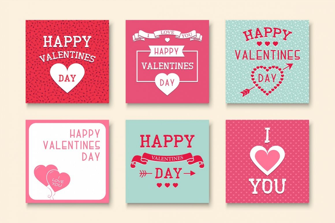 Greeting Valentine Cards. example image 1