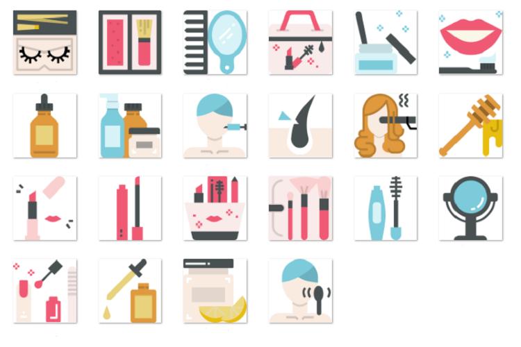 Beauty cosmetics 1 example image 1