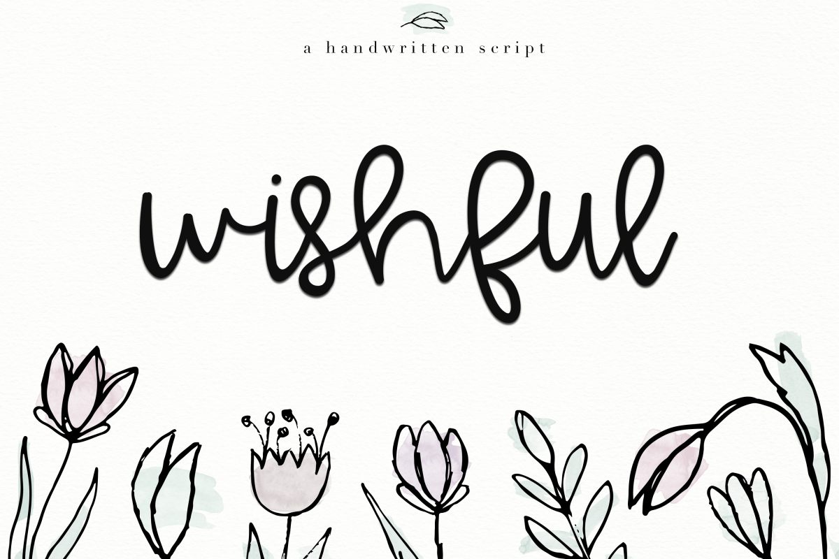 Wishful - Bold Handwritten Script